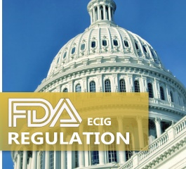 Who would benefit from FDA's regulation of E-Cigs?