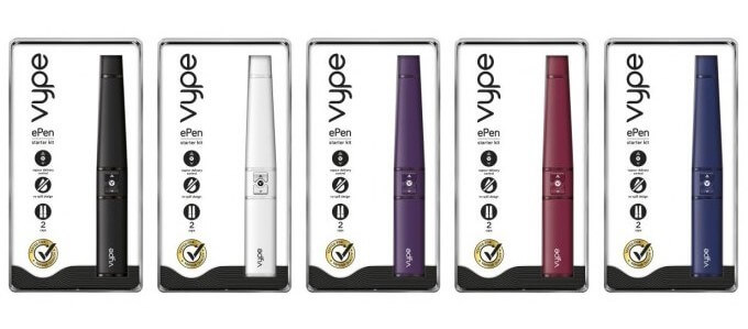 vype epen packaging
