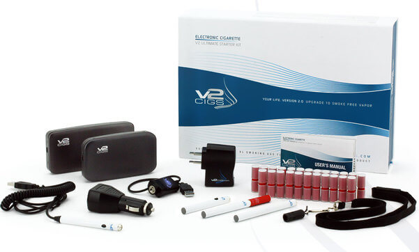 v2 cigs electronic cigarette review