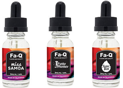 FA-Q vape liquid uk