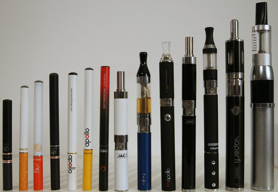 e cigarette types